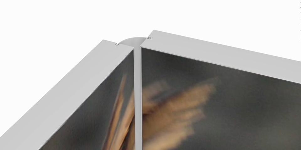 Raumteiler mit Stoffdruck | Matrix RD