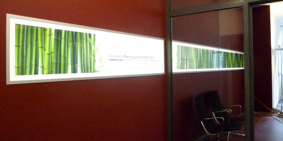Leuchtkästen von Erler+Pless Hamburg bringen Ihre Motive richtig zur Geltung