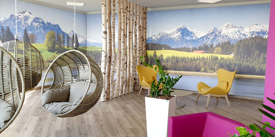 Projekt Werbung mit Licht und Textilspannrahmen von Erler+Pless Hamburg © Foto von Shutterstock, Wolfilser